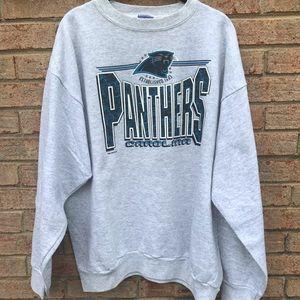 VTG 1993 Carolina Panthers Crewneck